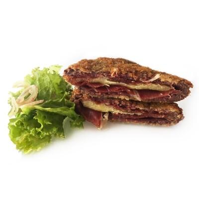 US Beef Tenderloin San Jacobo with Iberian Jamon and Mahon Cheese