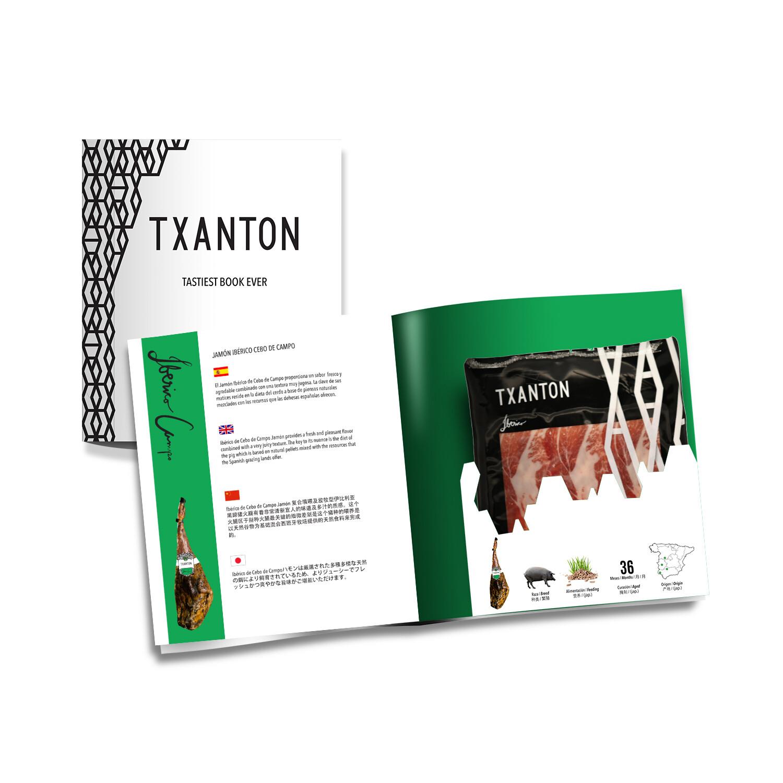 Txanton Jamon Book
