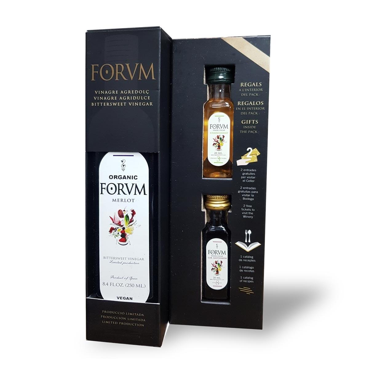 Forvm 1 Bottle and 2 Mini Bottles (Coming Soon)