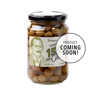 Arbequines Olives Txanton 150 Years 370g (Coming Soon)