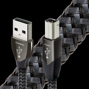 Carbon USB  A-B  0.75M Long