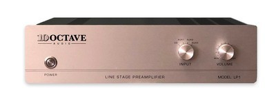 10 Octave Audio LP-1 Vacuum Tube Line stage Preamplifier