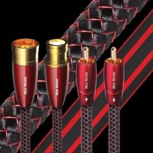 AUDIOQUEST  0.5M  PR RED RIVER RCA / PAIR