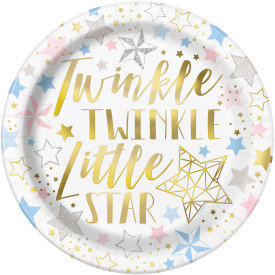 "Twinkle Twinkle 9"" Dinner Plates"