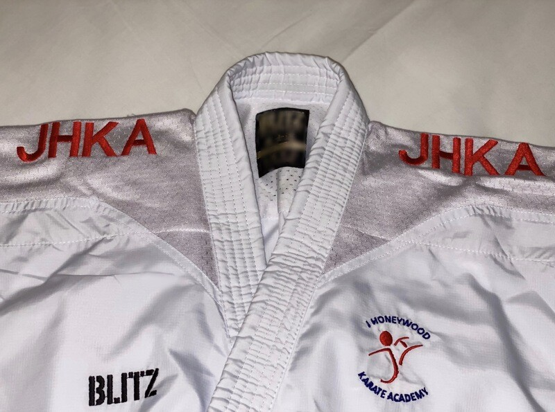 Exclusive Sport Karate Fighters Specific Gi embroidered shoulders