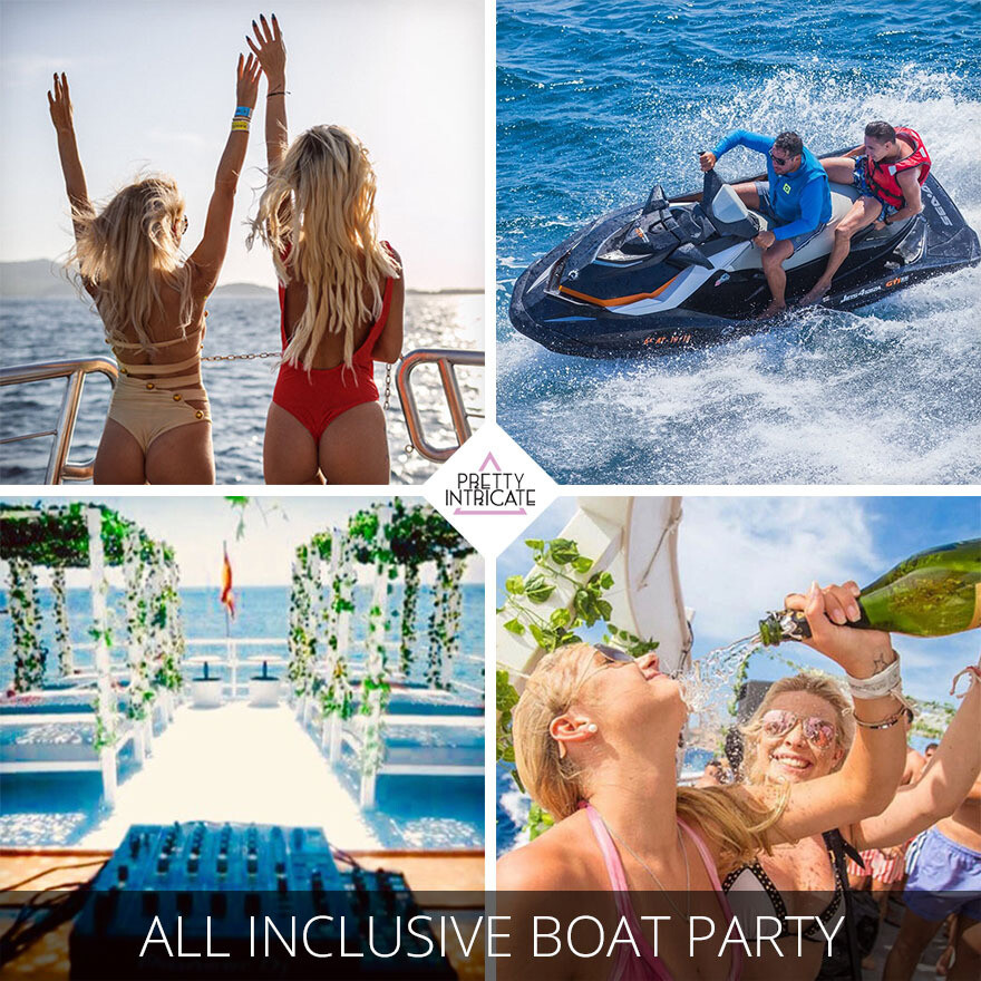 Jess and friends Ibiza hen activity package