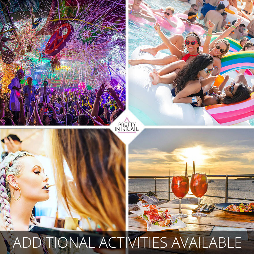 Sterling & Friends Ibiza Birthday package 1st December 2020 (20 attending) Lead name Sterling Bliss