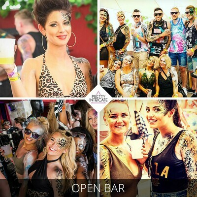 Grainne & Friends Ibiza hen body paint pre party package. The group will arrive on 25th September 2020 and attend the Zoo project event that Sunday 27th.  (8 attending) Lead name Grainne.