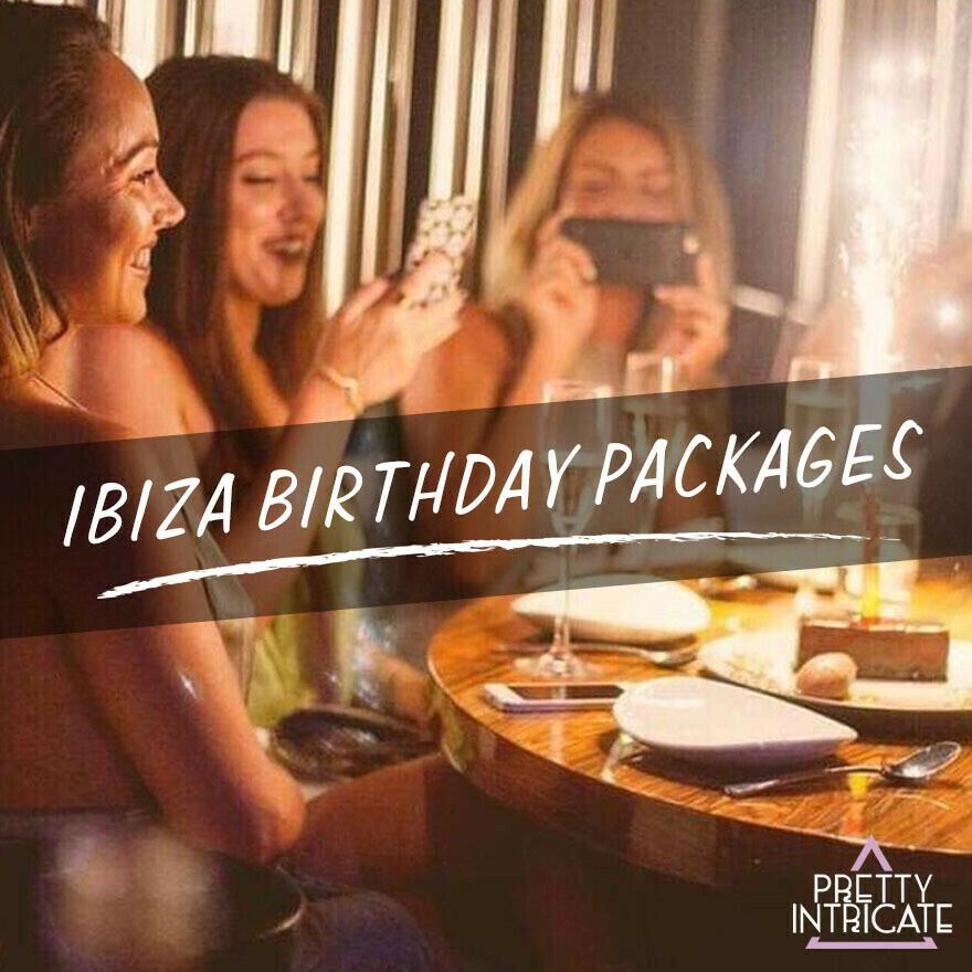 Chantel & Friends Ibiza Birthday package 16th June 2021 (19 attending) Lead name Chantel Kinney