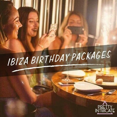 Chantel & Friends Ibiza Birthday package 16th June 2021 (19 attending) Lead name Chantel Kinney