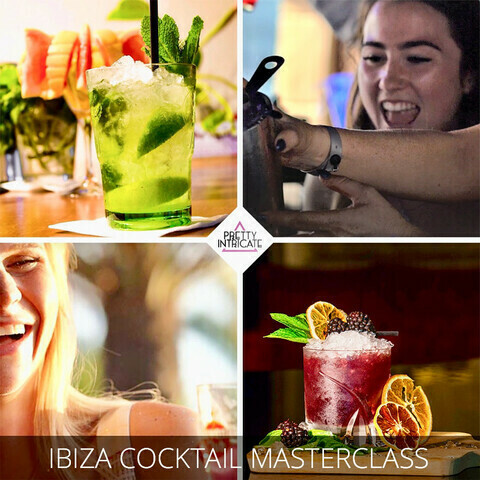 Chloe & friends Ibiza Cocktail masterclass. Total Cost:£29pp