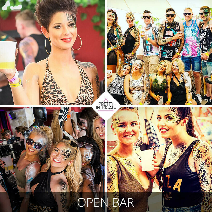 Harriet & Friends Ibiza hen reschedule Itinerary - Sunday 15th August - Tuesday 17th August 2021.