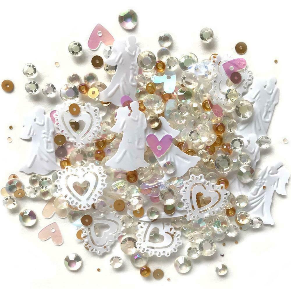 Sparkletz Embellishment Pack 10g Just Married