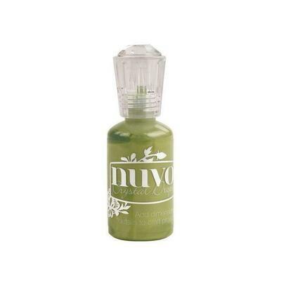 Nuvo - Crystal Drops - Bottle Green - 682n