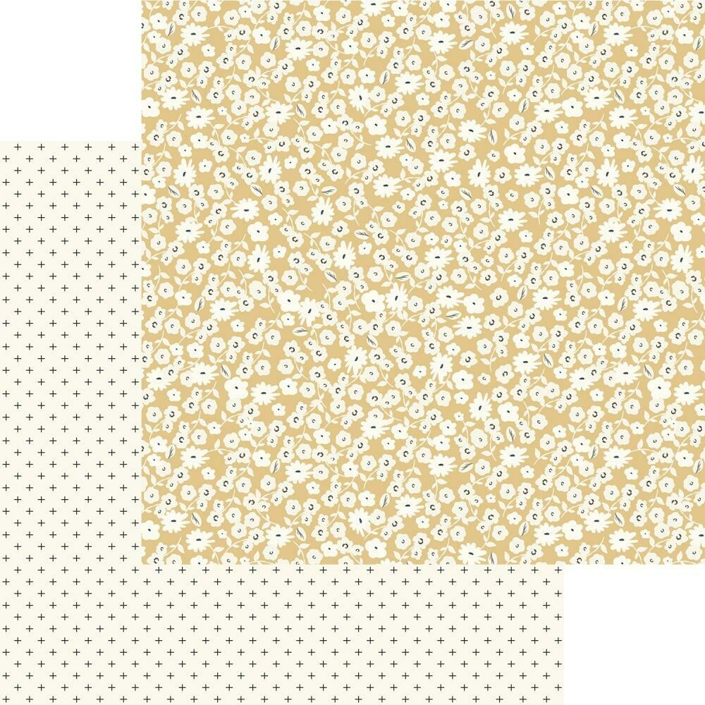 "Gingham Gardens Double-Sided Cardstock 12""X12""  Hannah"