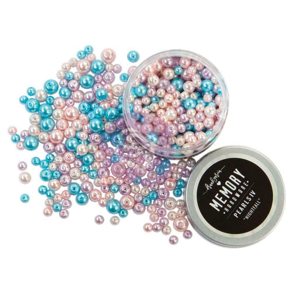 Prima Marketing Memory Hardware Glass Pearls - 4