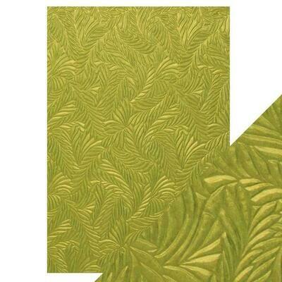Craft Perfect - Hand Crafted Cotton Paper - Evergreen Fir - A4 (5/PK)