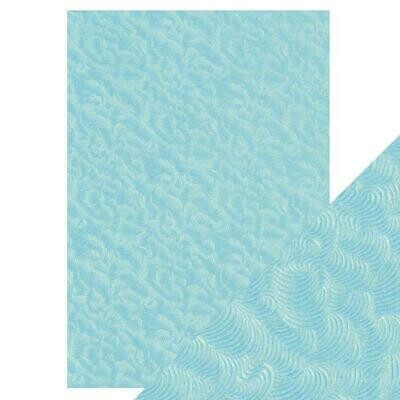 Craft Perfect - Hand Crafted Cotton Paper - Caribbean Tide - A4(5/PK)