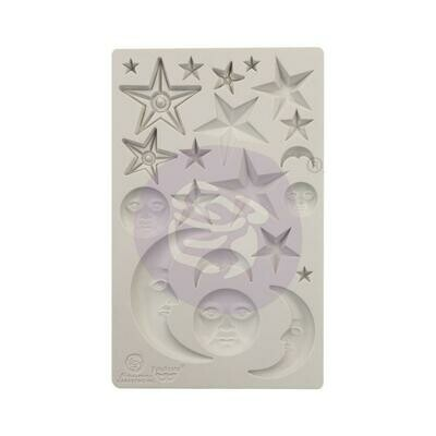 Finnabair Decor Moulds - Stars and Moons -5
