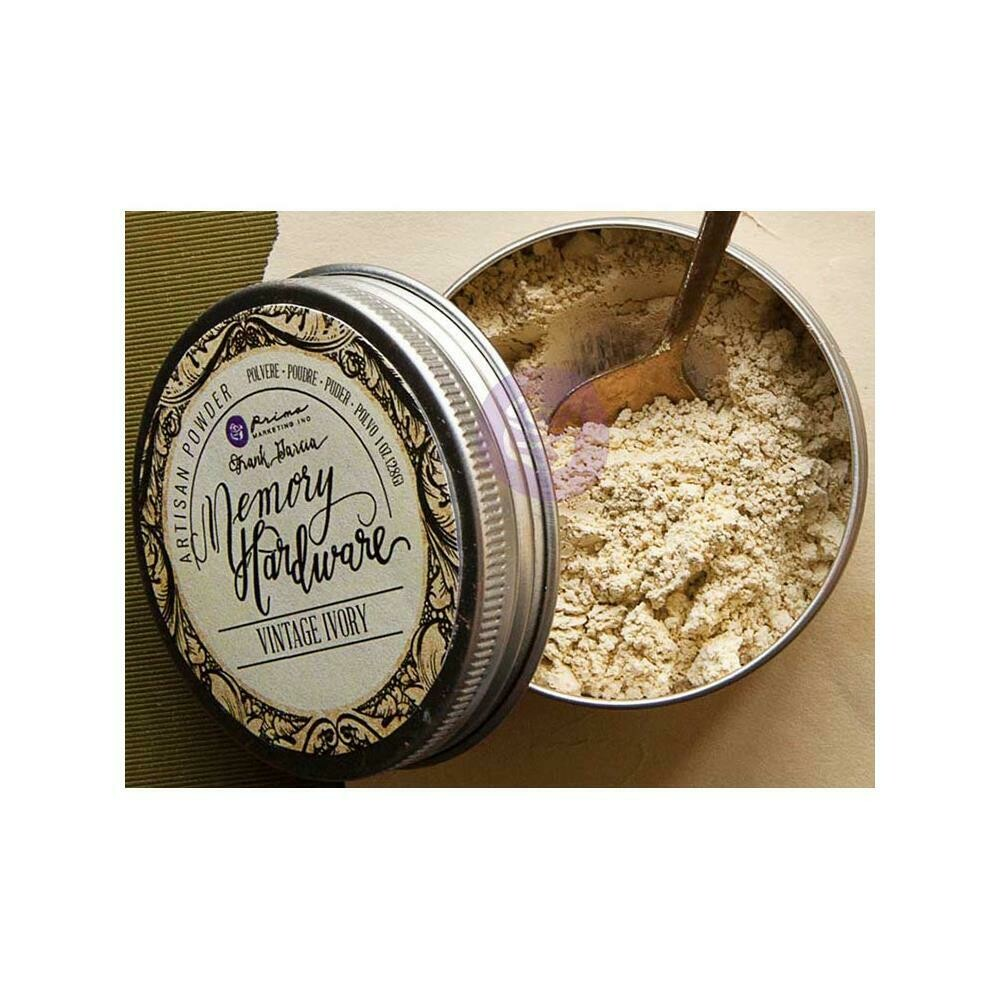 Prima Marketing Memory Hardware Artisan Powder 1oz - Vintage Ivory
