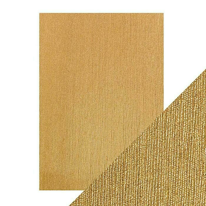 Craft Perfect - Luxury Embossed Card - Cinnamon Silk - A4 (5/PK)