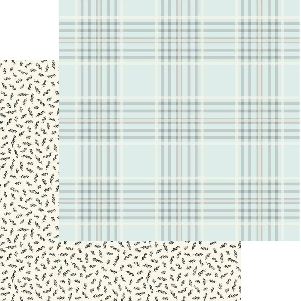 """Gingham Gardens Double-Sided Cardstock 12""""X12""""  Georgia"""
