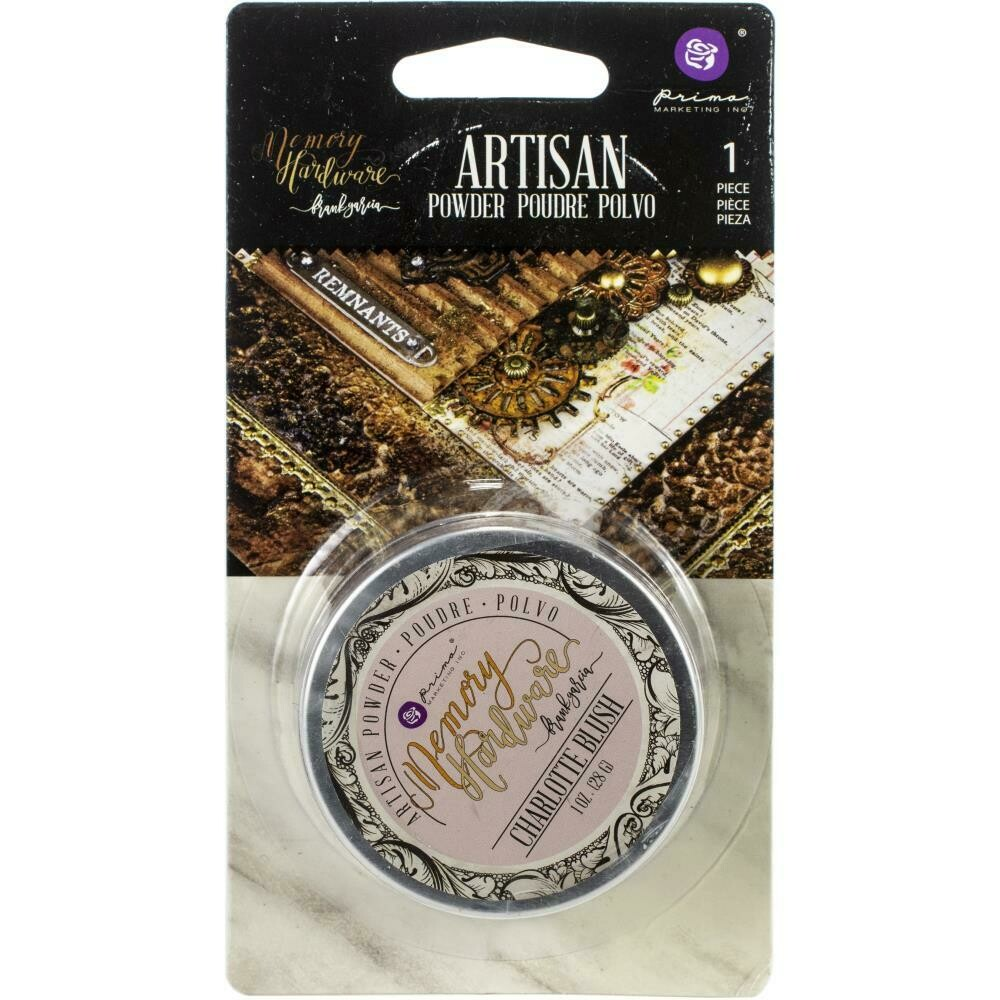 Prima Marketing Memory Hardware Artisan Powder 1oz - Charlotte Blush