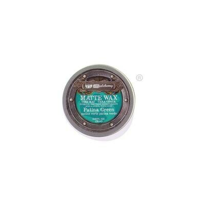 Finnabair Art Alchemy Matte Wax - Patina Green - .68 Fluid Ounce