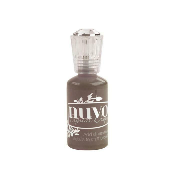 Nuvo - Crystal Drops - Dark Walnut - 684n