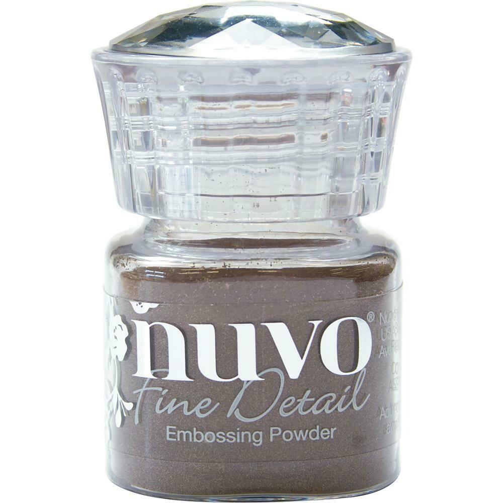 Nuvo Embossing Powder Fine Detail .68oz - Copper Blush