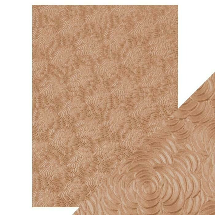Craft Perfect - Hand Crafted Cotton Paper - Warm Dahlia - A4(5/PK)