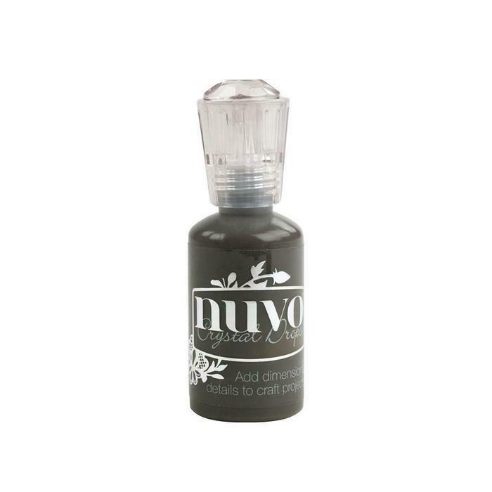 Nuvo - Crystal Drops - Ebony Black - 650n