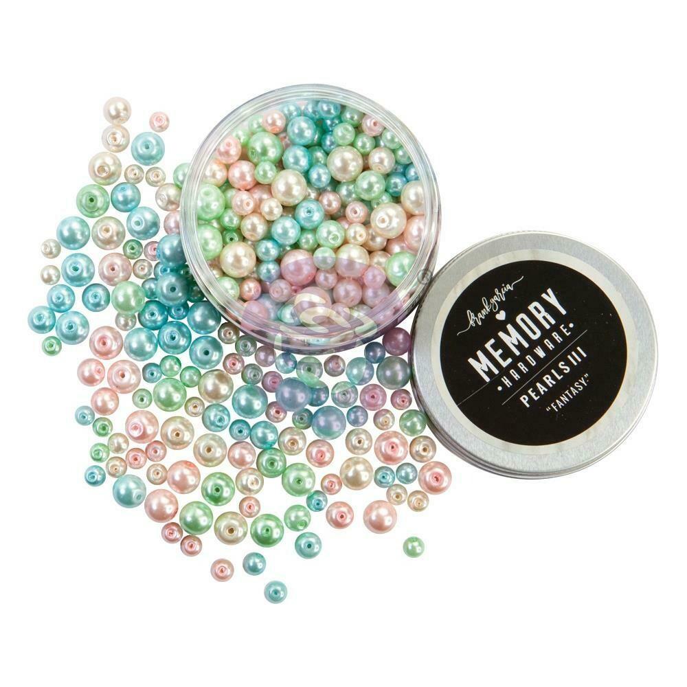 Prima Marketing Memory Hardware Glass Pearls - 3