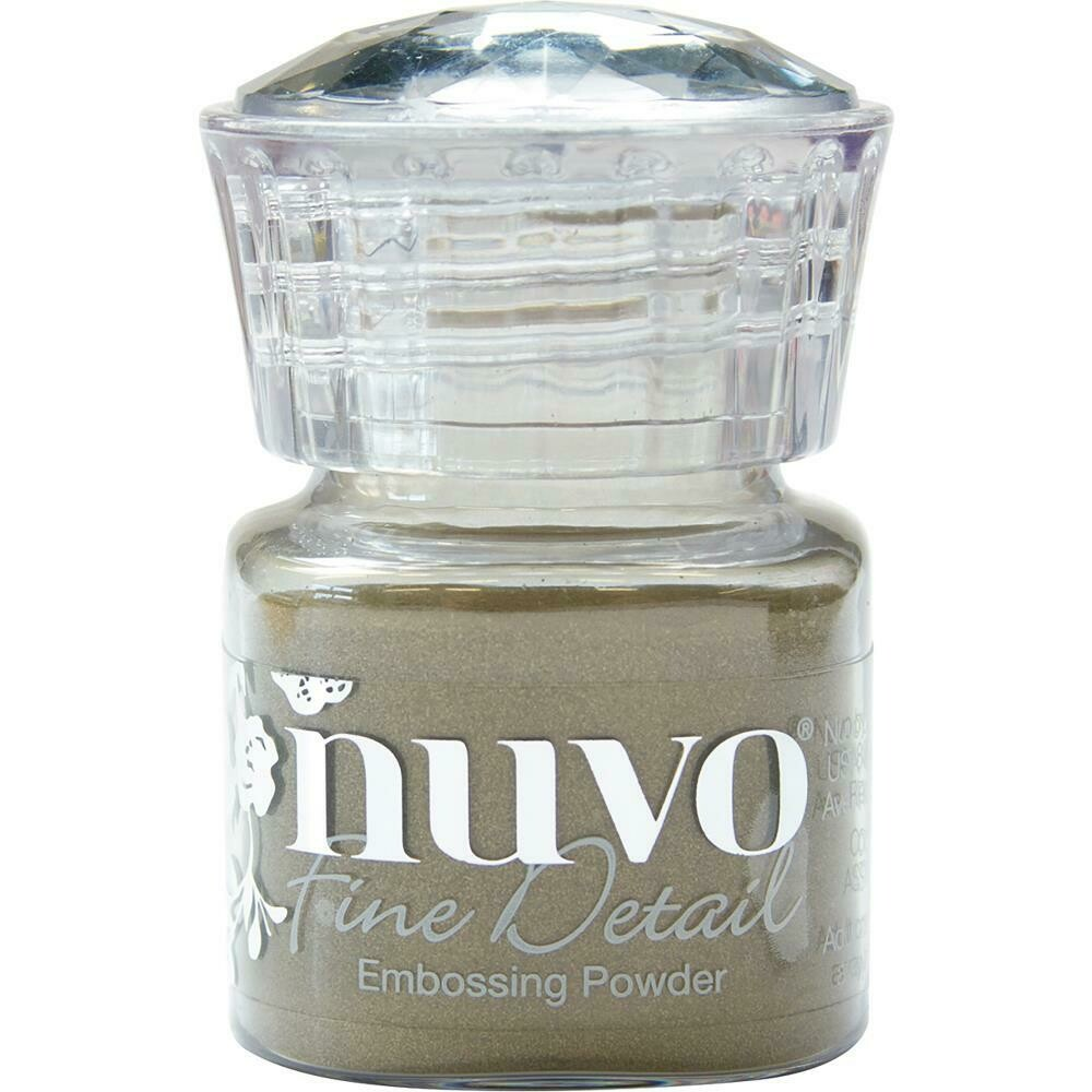Nuvo Embossing Powder Fine Detail .68oz  - Classic Gold