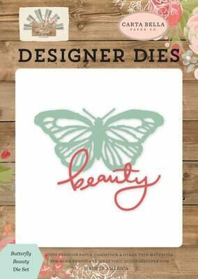 CartaBella Dies Butterfly Beauty, Farmhouse Market