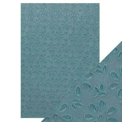 Craft Perfect - Hand Crafted Cotton Paper - Floral Lace - A4 (5/PK)