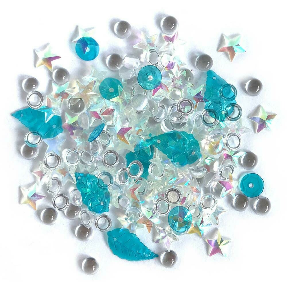 Sparkletz Embellishment Pack 10g Salt Water