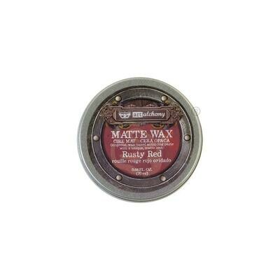 Finnabair Art Alchemy Matte Wax - Rusty Red -  .68 Fluid Ounce