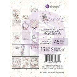 Prima Marketing Lavender Frost Journaling Cards 3