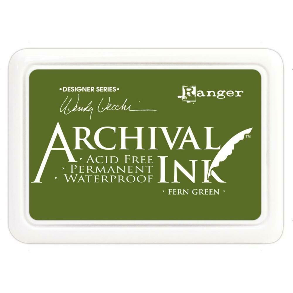 Wendy Vecchi Archival Ink Pad Fern Green