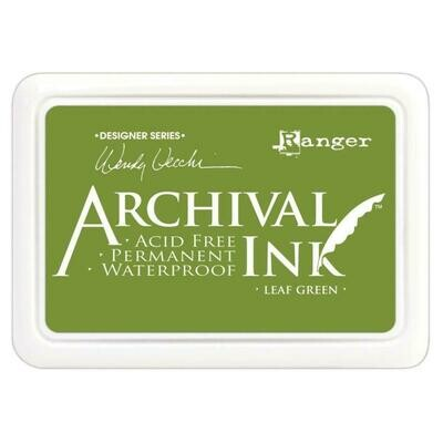Wendy Vecchi Archival Ink Pad Leaf Green