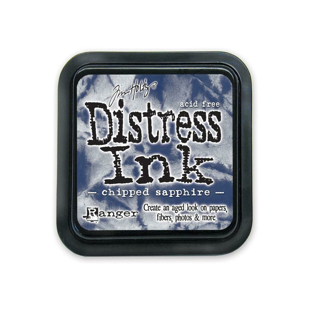 Tim Holtz Distress Ink Pad Chipped Sapphire