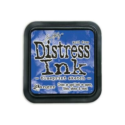 Tim Holtz Distress Ink Pad Blueprint Sketch
