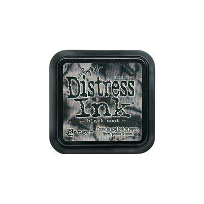Tim Holtz Distress Ink Pad Black Soot