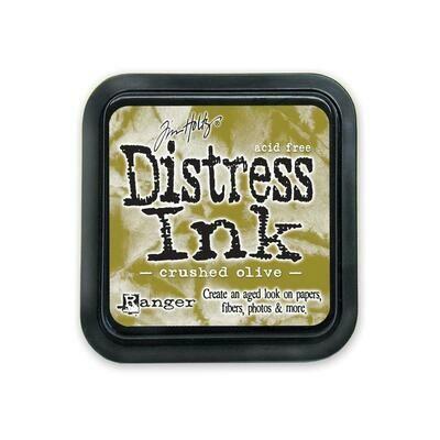 Tim Holtz Distress Ink Pad Crushed olive