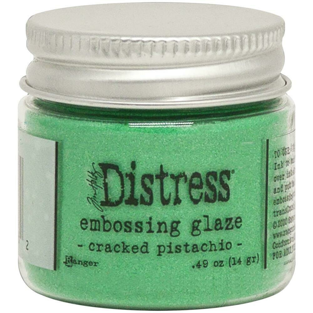 Tim Holtz Distress Embossing Glaze Cracked Pistachio