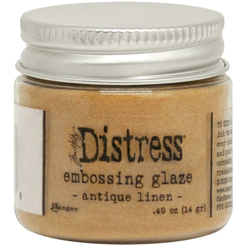 Tim Holtz Distress Embossing Glaze Antique Linen