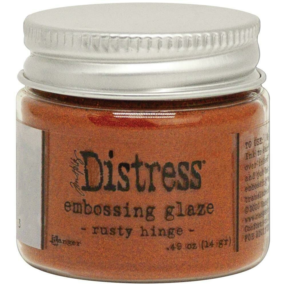 Tim Holtz Distress Embossing Glaze Rusty Hinge