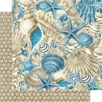 Graphic 45 Ocean Blue Double-Sided Cardstock 12