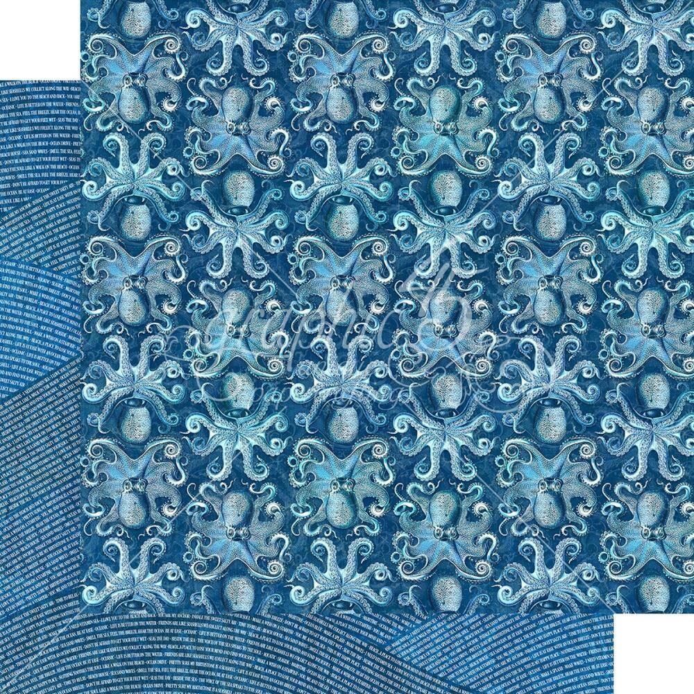 "Graphic 45 Ocean Blue Double-Sided Cardstock 12""X12"" Kauai"